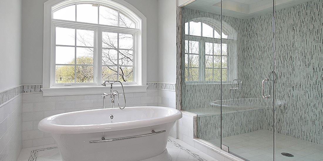 Bathroom glass for windows and shower screens