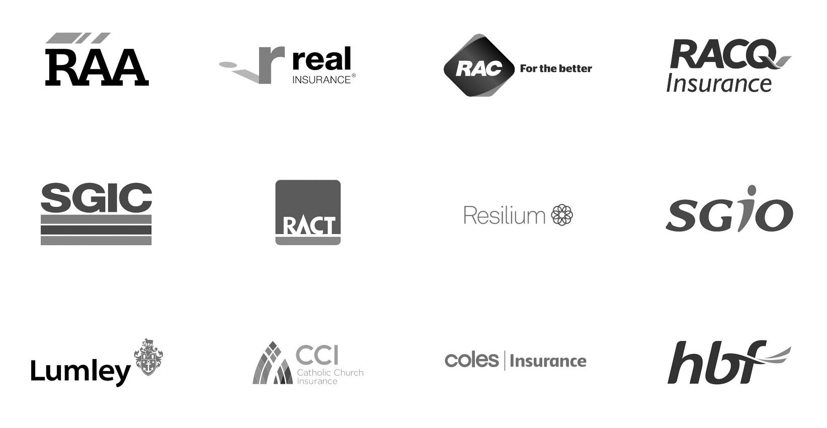 Insurance partner logos 2