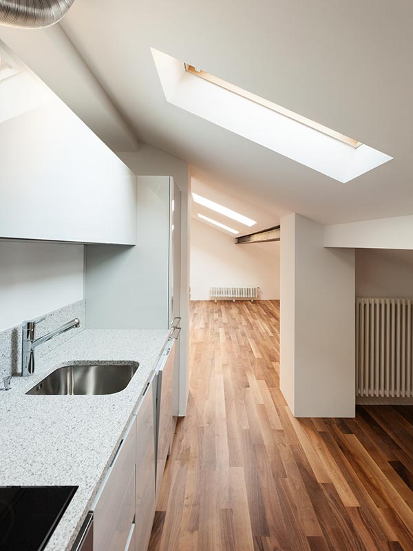 Kitchen design ideas - skylights