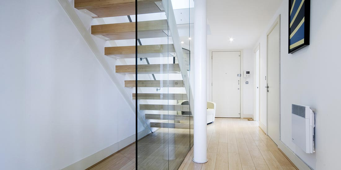 Home glass balustrade