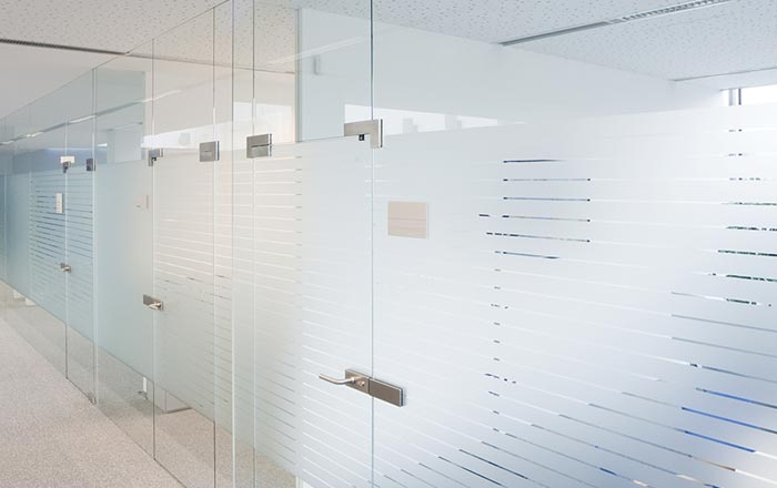 Glass Office Panels