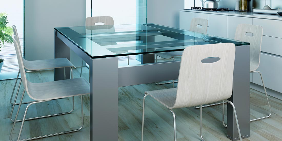 Safety glass - glass table top