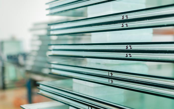 Safety glass - toughened glass panes