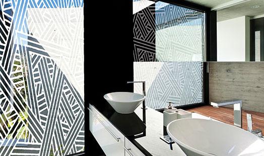 Decorative home window tinting